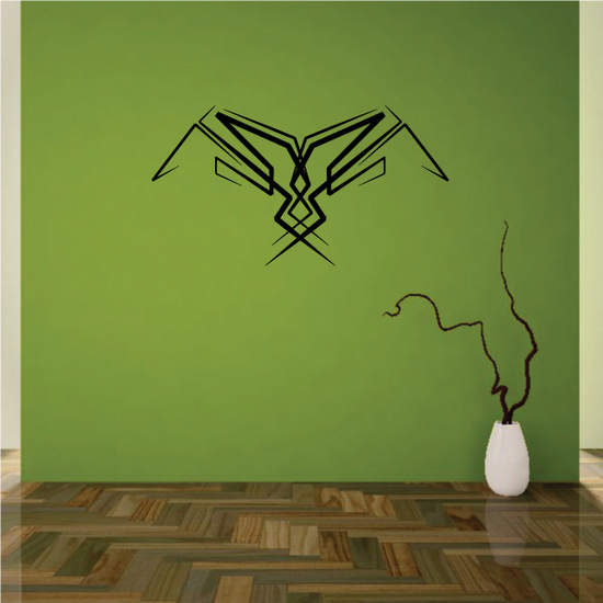 Tribal Pinstripe Wall Decal - Vinyl Decal - Car Decal - 395