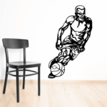 Basketball Wall Decal - Vinyl Decal - Car Decal - CDS064