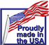 Proudly Made in the USA Sticker