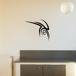 Tribal Pinstripe Wall Decal - Vinyl Decal - Car Decal - 399