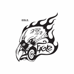 Eagle Gas Mask Decal