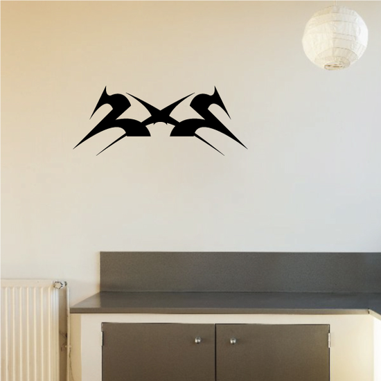 Tribal Pinstripe Wall Decal - Vinyl Decal - Car Decal - 405