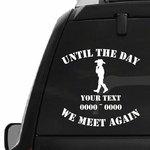 Cowboy Kid Custom In Loving Memory Decal
