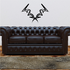 Tribal Pinstripe Wall Decal - Vinyl Decal - Car Decal - 414