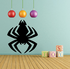 Bold Creepy Spider Decal