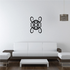 Tribal Pinstripe Wall Decal - Vinyl Decal - Car Decal - 430
