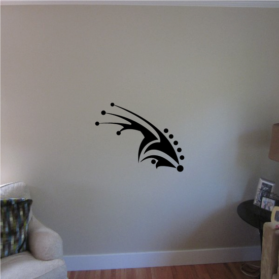 Tribal Pinstripe Wall Decal - Vinyl Decal - Car Decal - 433