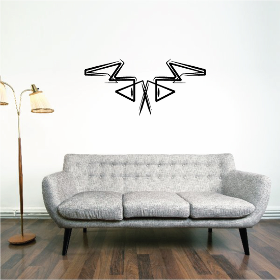 Tribal Pinstripe Wall Decal - Vinyl Decal - Car Decal - 437