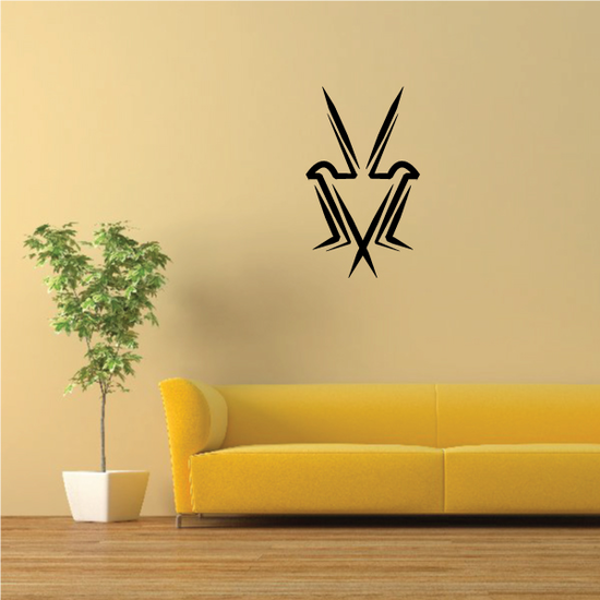 Tribal Pinstripe Wall Decal - Vinyl Decal - Car Decal - 440