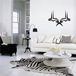 Tribal Pinstripe Wall Decal - Vinyl Decal - Car Decal - 447
