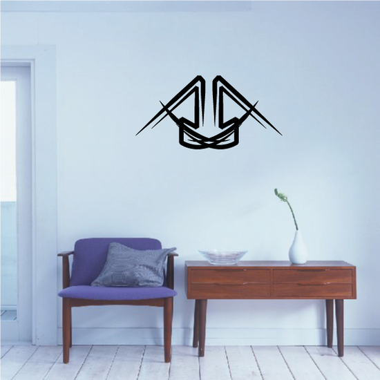 Tribal Pinstripe Wall Decal - Vinyl Decal - Car Decal - 448