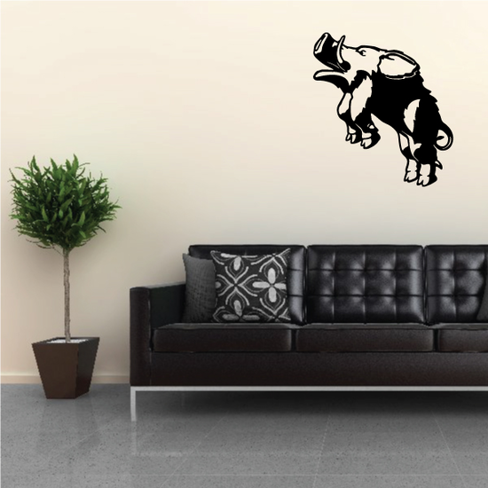 Jumping Boar Decal