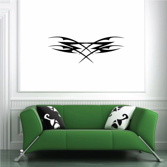 Tribal Pinstripe Wall Decal - Vinyl Decal - Car Decal - 456