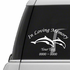 Two Dolphins Custom In Loving Memory Decal