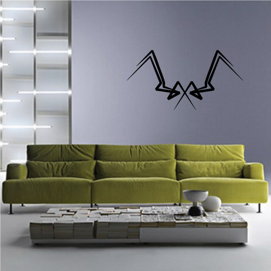 Tribal Pinstripe Wall Decal - Vinyl Decal - Car Decal - 463