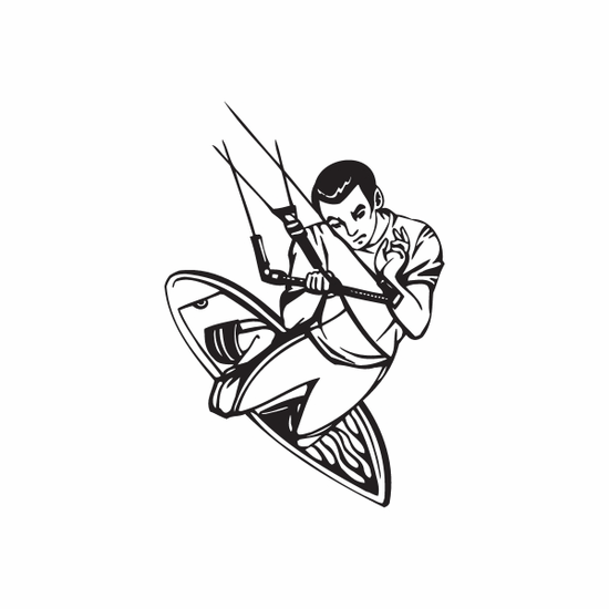 Wakeboarding 1260 Decal