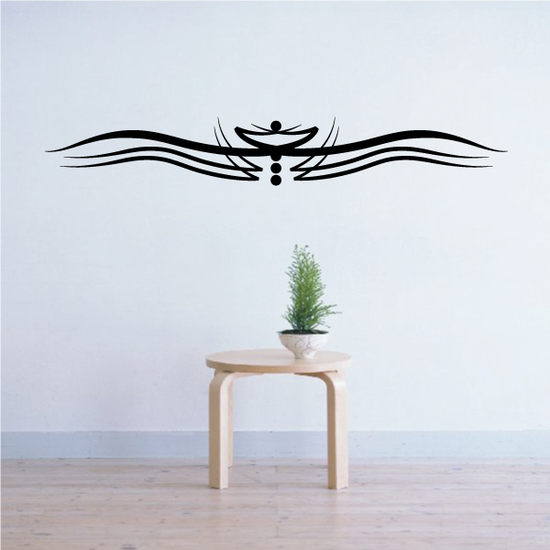 Tribal Pinstripe Wall Decal - Vinyl Decal - Car Decal - 467