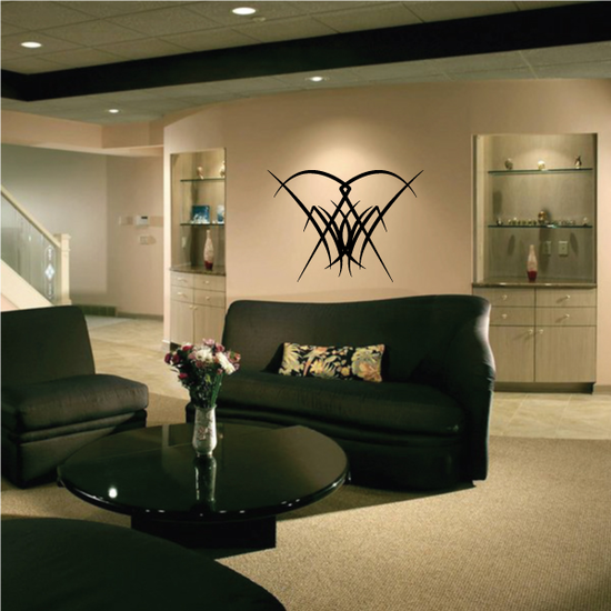 Tribal Pinstripe Wall Decal - Vinyl Decal - Car Decal - 468