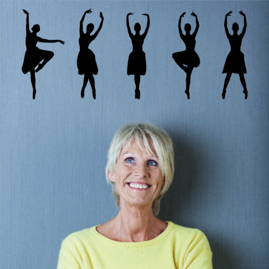 Dance Poses Wall Decal - Vinyl Decal - Car Decal - Vd006