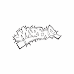 Marble Graffiti Decal
