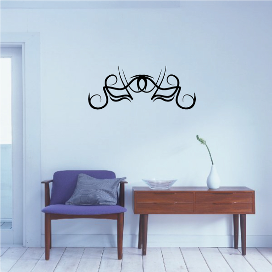 Tribal Pinstripe Wall Decal - Vinyl Decal - Car Decal - 475