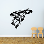 Wakeboarder Big Air Decal