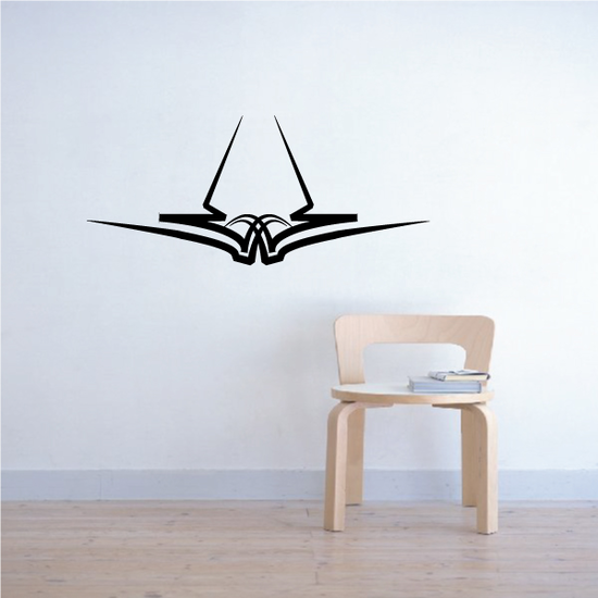 Tribal Pinstripe Wall Decal - Vinyl Decal - Car Decal - 484
