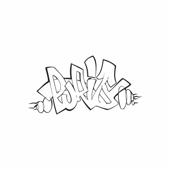 Purity Graffiti Decal