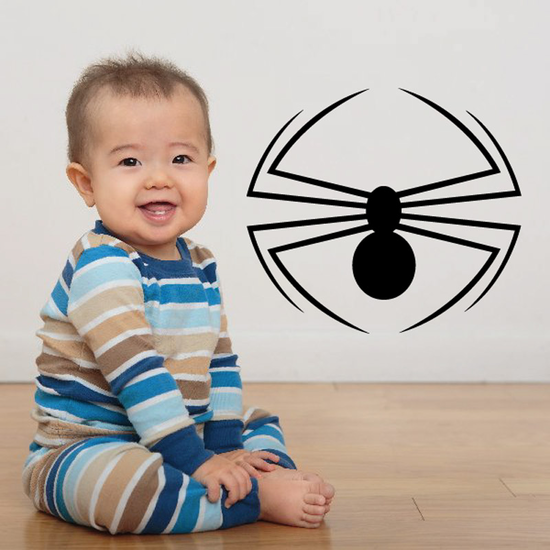 Curved Leg Spider Decal