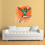 Dance Wall Decal - Vinyl Sticker - Car Sticker - Die Cut Sticker - SMcolor006