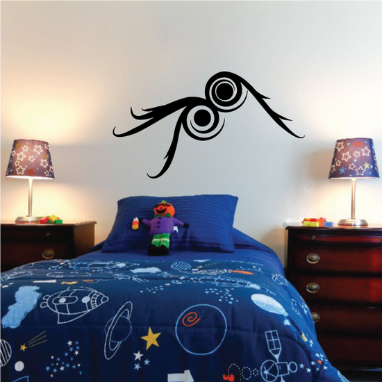 Tribal Pinstripe Wall Decal - Vinyl Decal - Car Decal - 501