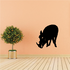 Boar Sniffing Decal