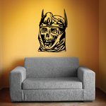 Monster Skull Wall Decal - Vinyl Decal - Car Decal - SM037