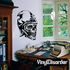 Monster Skull Wall Decal - Vinyl Decal - Car Decal - SM047