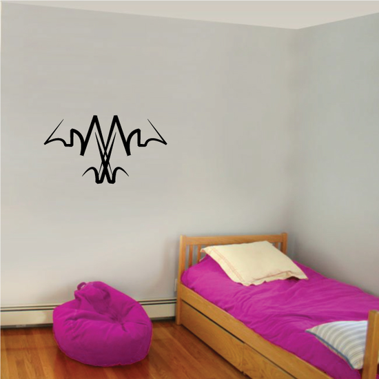 Tribal Pinstripe Wall Decal - Vinyl Decal - Car Decal - 514
