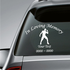 Strong Man Custom In Loving Memory Decal