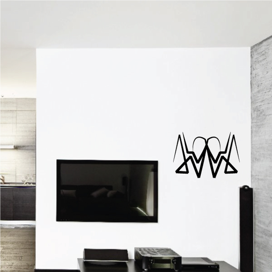 Tribal Pinstripe Wall Decal - Vinyl Decal - Car Decal - 546