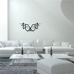 Tribal Pinstripe Wall Decal - Vinyl Decal - Car Decal - 552