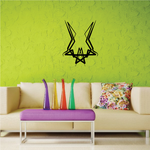 Tribal Pinstripe Wall Decal - Vinyl Decal - Car Decal - 555