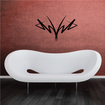 Tribal Pinstripe Wall Decal - Vinyl Decal - Car Decal - 557