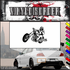 Chopper Wall Decal - Vinyl Decal - Car Decal - SM078