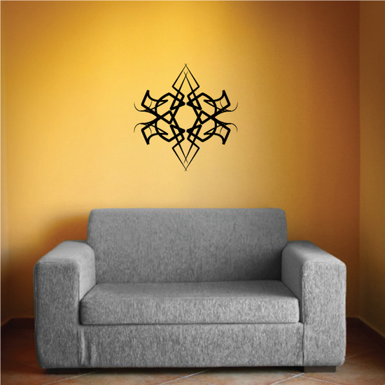 Tribal Pinstripe Wall Decal - Vinyl Decal - Car Decal - 580