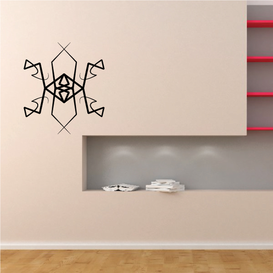 Tribal Pinstripe Wall Decal - Vinyl Decal - Car Decal - 582