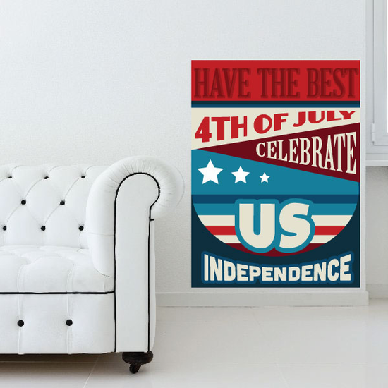 Have The Best 4th Of July Celebrate US Sticker