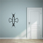 Tribal Pinstripe Wall Decal - Vinyl Decal - Car Decal - 586