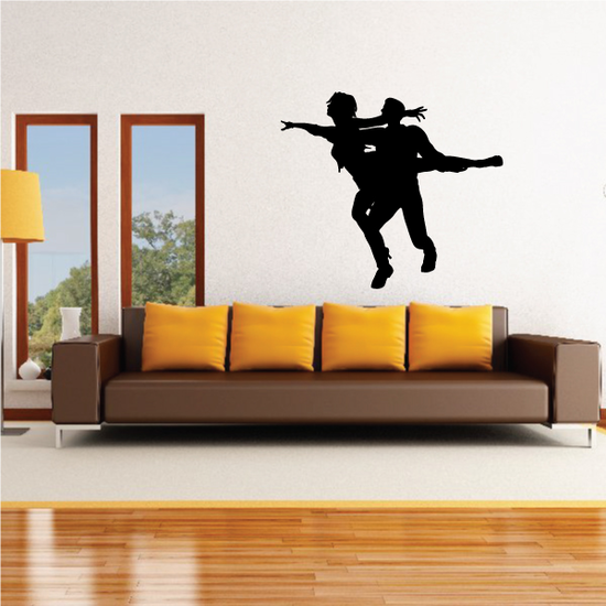Dance Wall Decal - Vinyl Decal - Car Decal - 0032