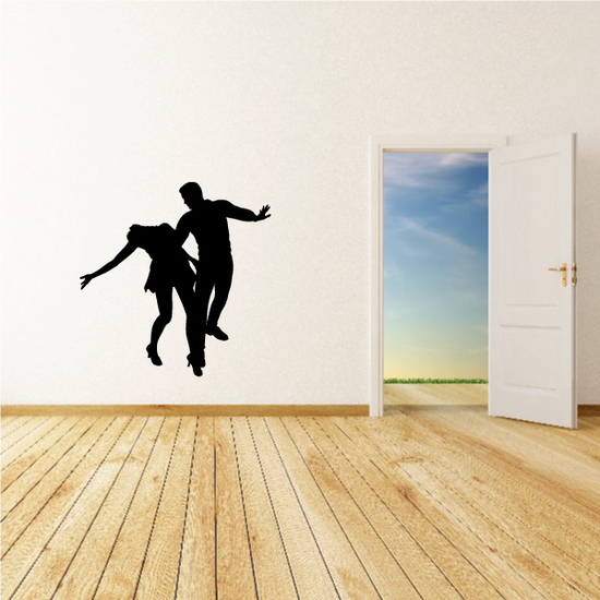 Dance Wall Decal - Vinyl Decal - Car Decal - 0039