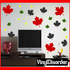 72 Leaves Leaf Wall Decal Kit - Vinyl Decal - Car Decal - Many Sizes Available.
