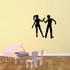 Dance Wall Decal - Vinyl Decal - Car Decal - 0046