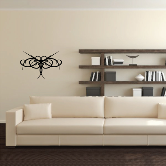 Tribal Pinstripe Wall Decal - Vinyl Decal - Car Decal - 605